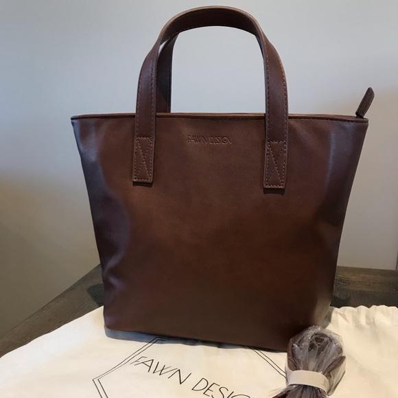 Fawn Design mini tote premium vegan leather